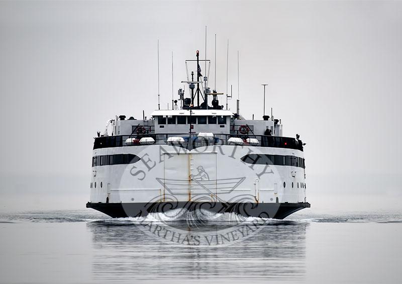 MV Islander Coming Home Photographic Art Jeff Serusa